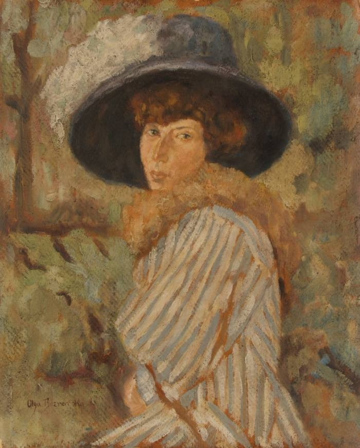Portrait of Lady in Hat
