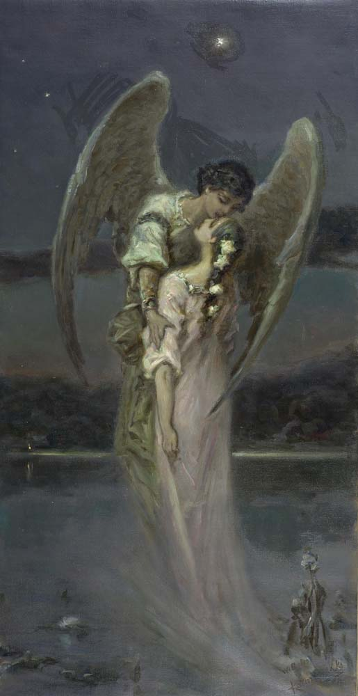 Girl with Angel
