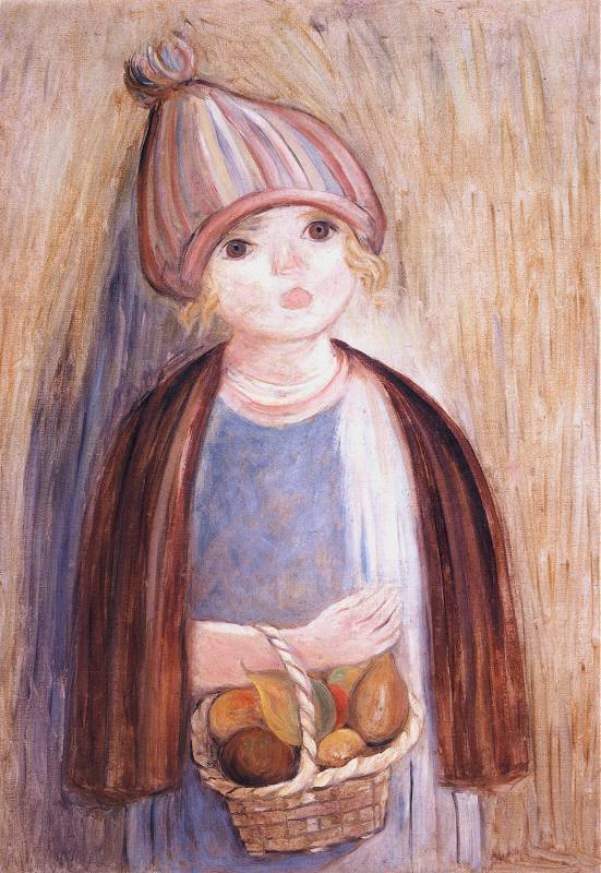 Girl with Pears