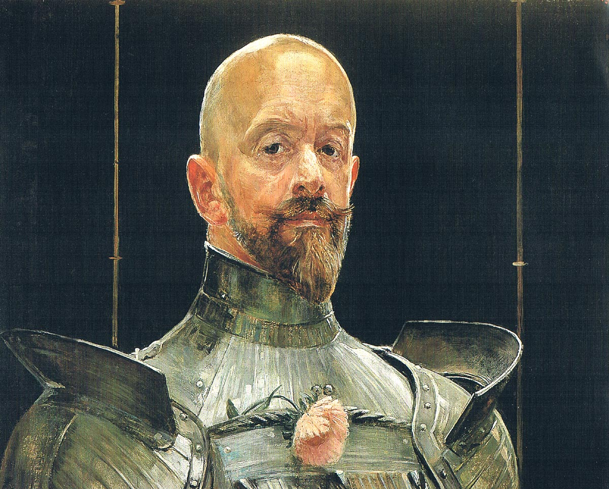Self-Portrait in Armour