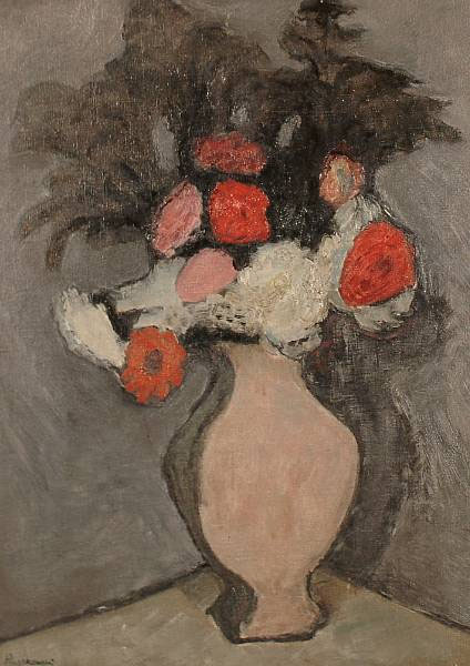 Still Life with Jug of Flowers