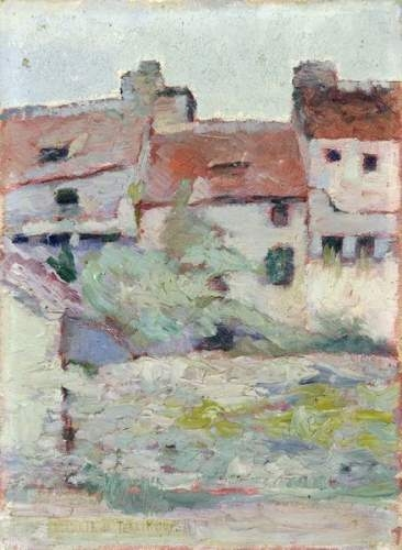 Lanscape with Houses