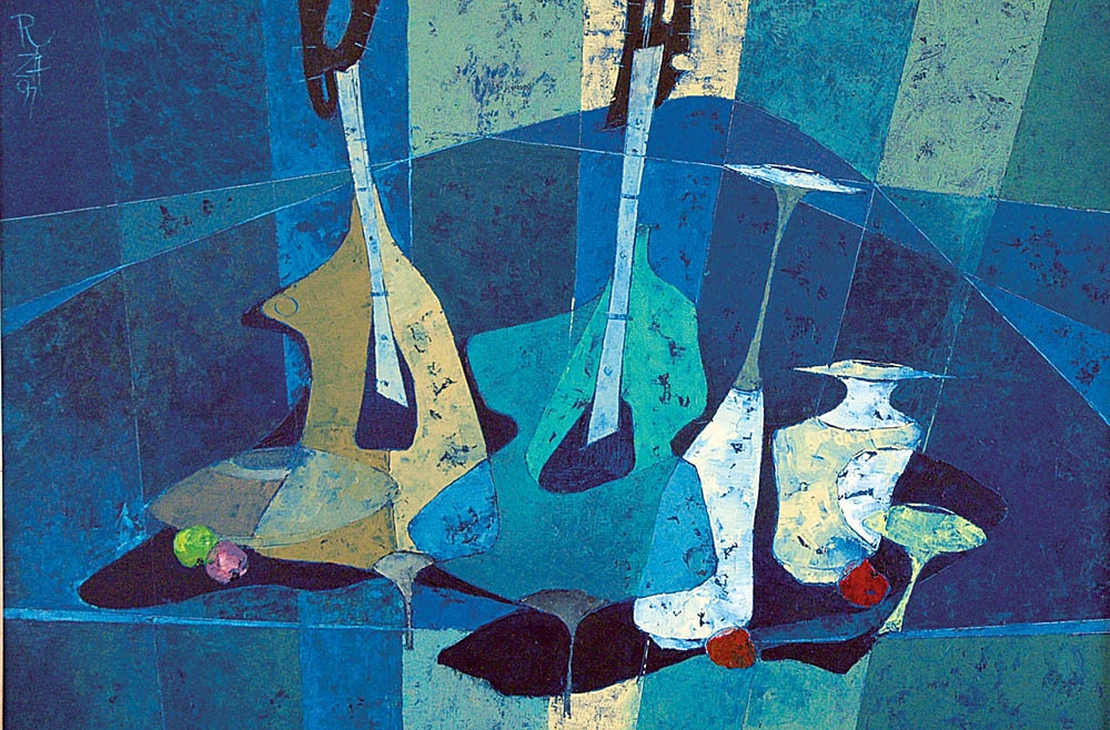 Music Composition in Blue