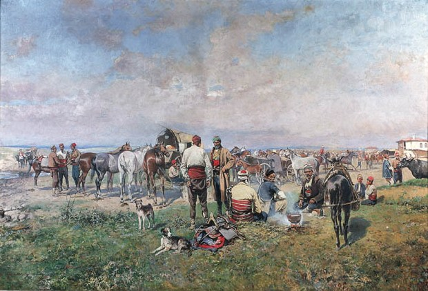 Horse Market - On the Steppe