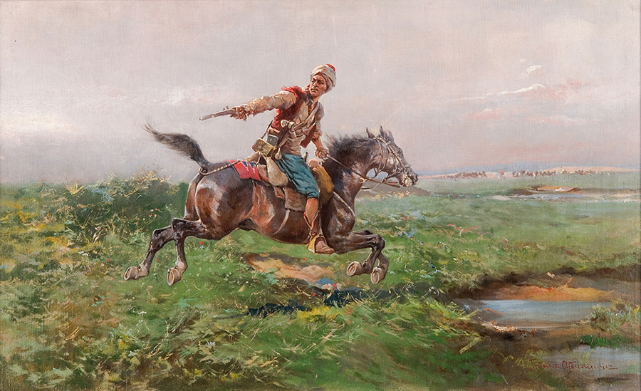 Rider on the Steppe