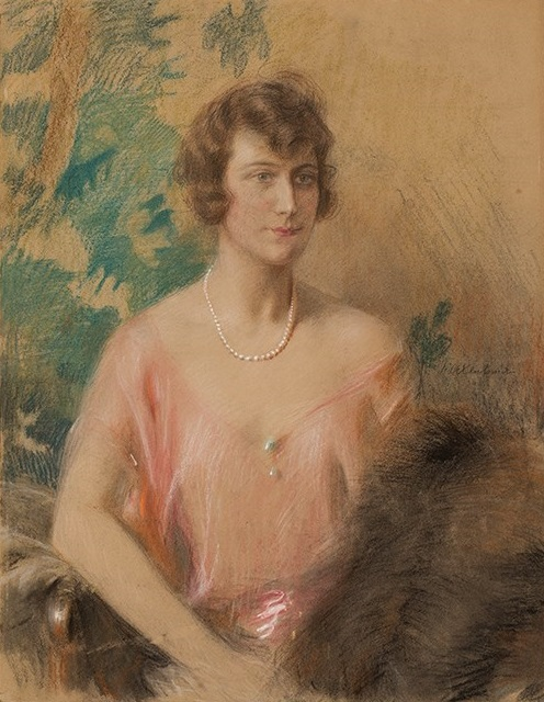 Portrait of Frieda Moltzer