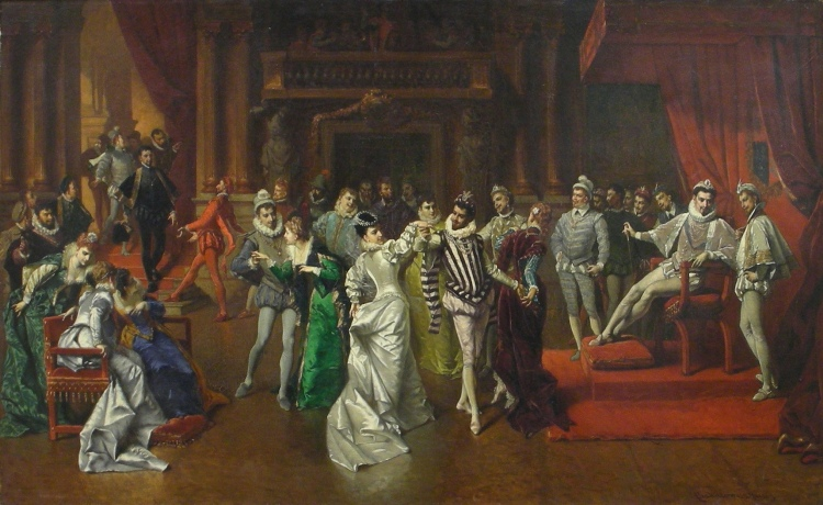 Ball at the Court of Henry of Valois