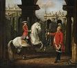 Colonel Piotr Königsfels Teaching Prince Józef Poniatowski How to Ride a Horse