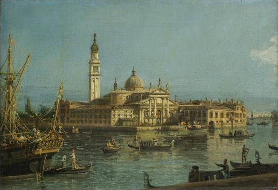Venice, a View of the Church of San Giorgio Maggiore