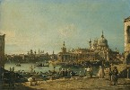 Venice, a View of the Entrance to the Grand Canal with the Church of Santa Maria della Salute