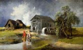 In front of a Water Mill