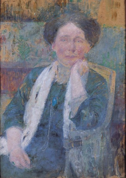 Portrait of a Woman in a Shawl
