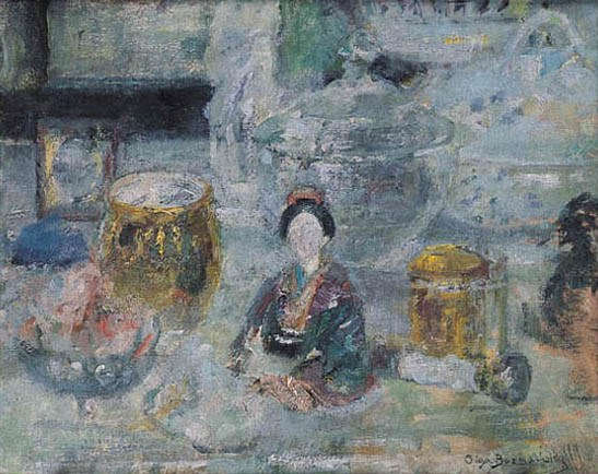 Still Life with a Japanese Doll