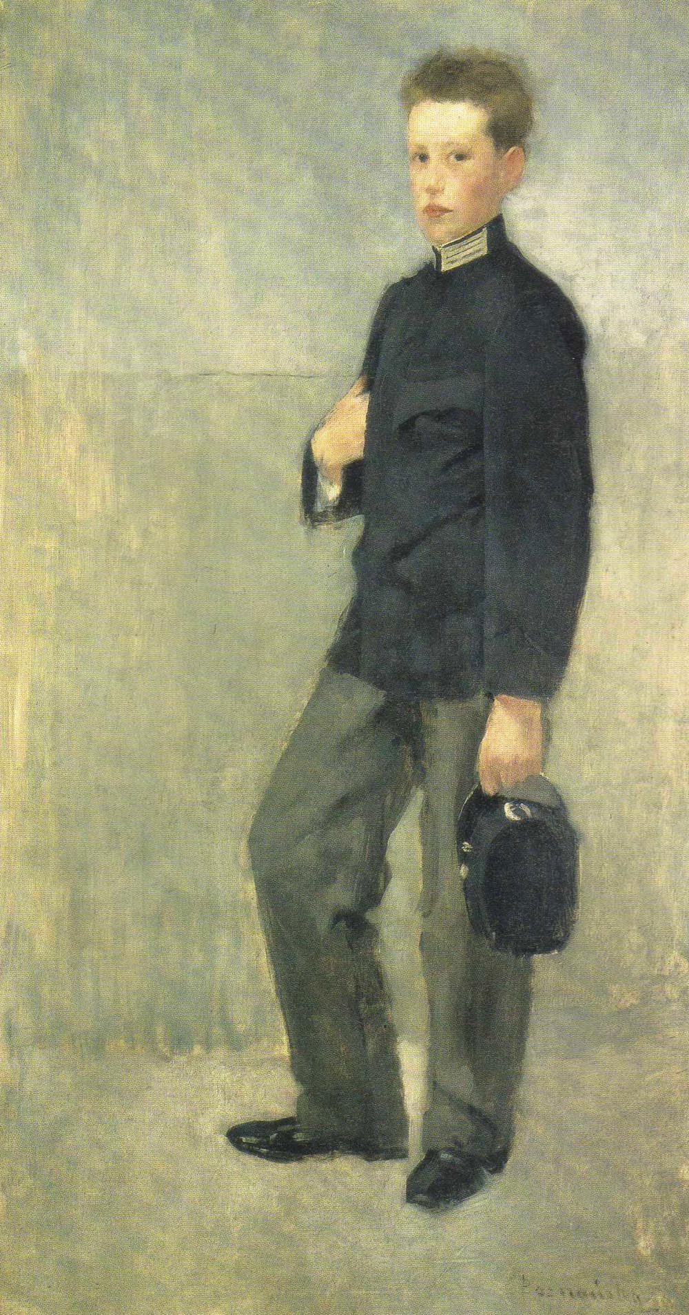 Portrait of a School Boy