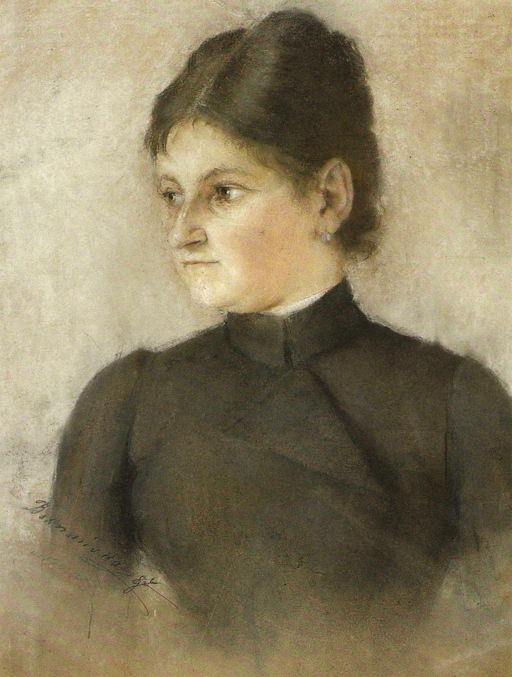 Portrait of Iza Boznanska, the Artist's Sister