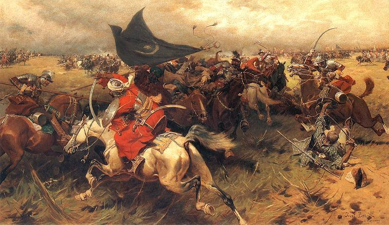Battle Over the Turkish Banner