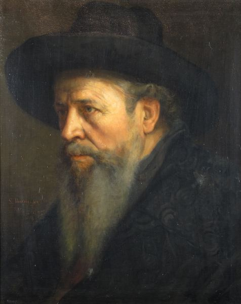 Portrait of a Gentleman Wearing a Hat