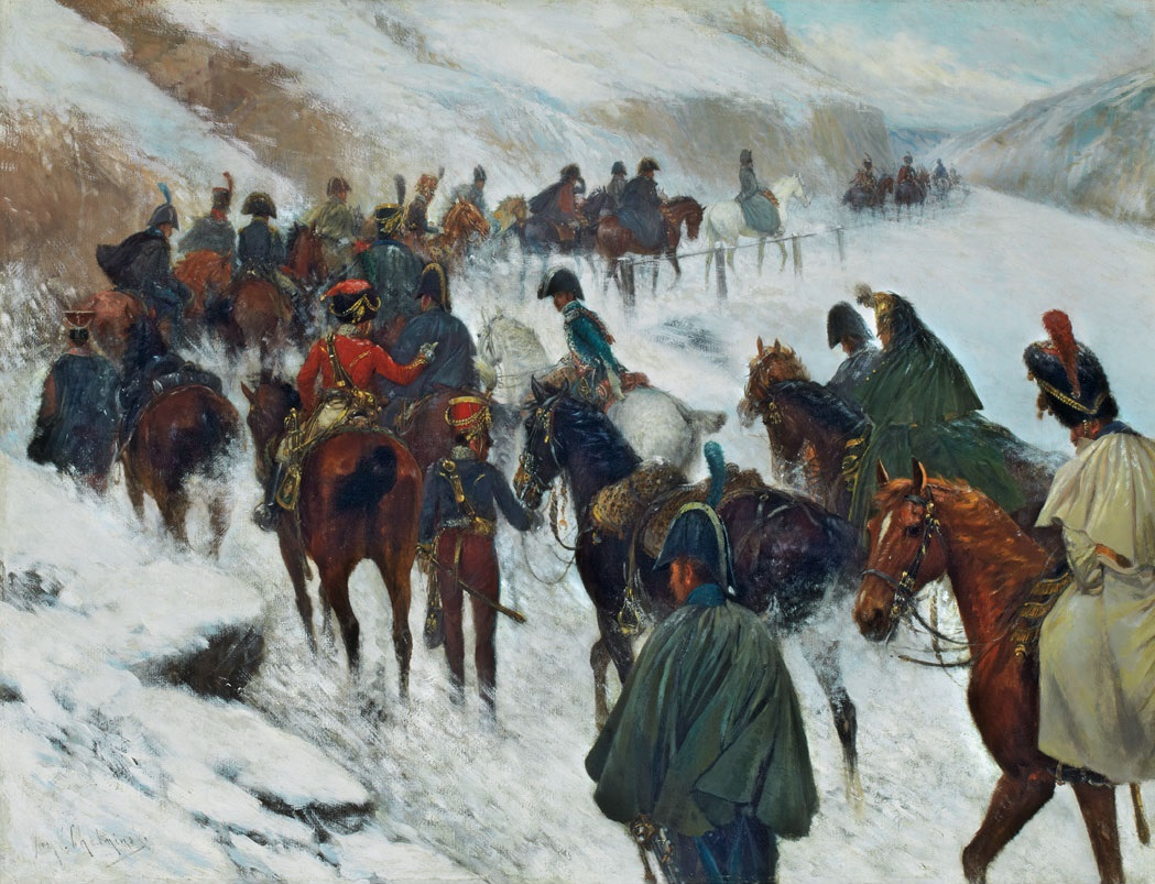 Napoleon Leading His Troops Through the Sierra de Guadarrama