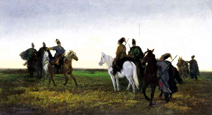 Cossacks in the Steppe