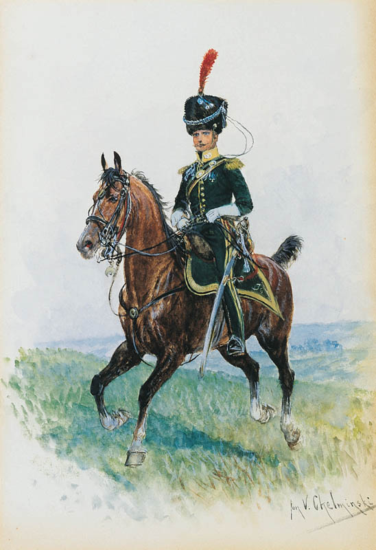 Officer on Horseback