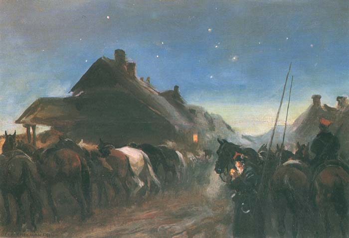 Insurgents at Night's Rest