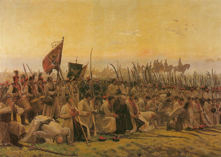 Army at Prayer Before the Battle of Raclawice