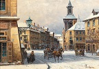 Winter in Cracow