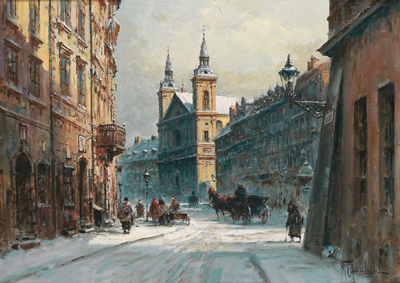 Winter's Day in Cracow