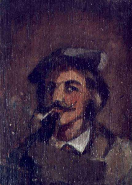 Man with a Pipe. Portrait of Stanislaw Chmielowski