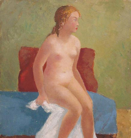 Nude with a Towel