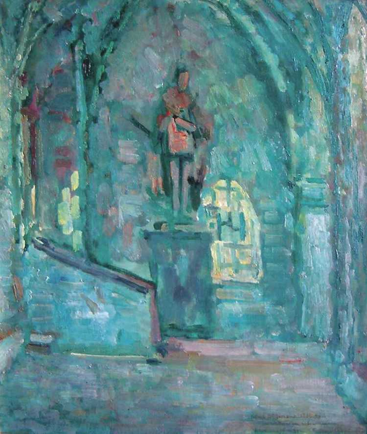 Interior of a Chapel