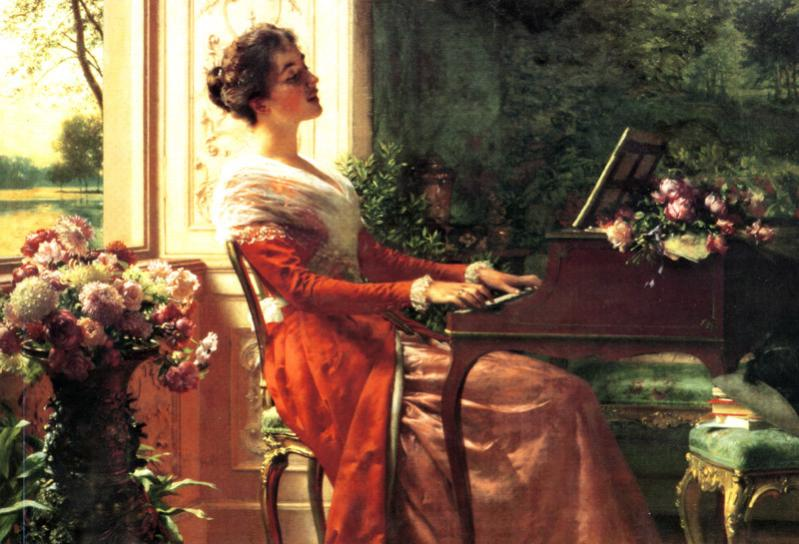 At the Clavichord - Love Song