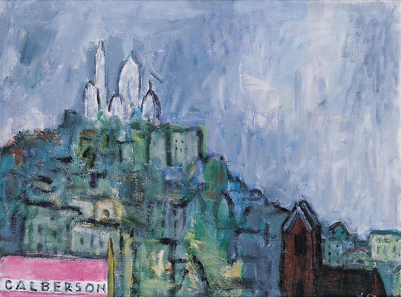 Montmartre Oil Painting