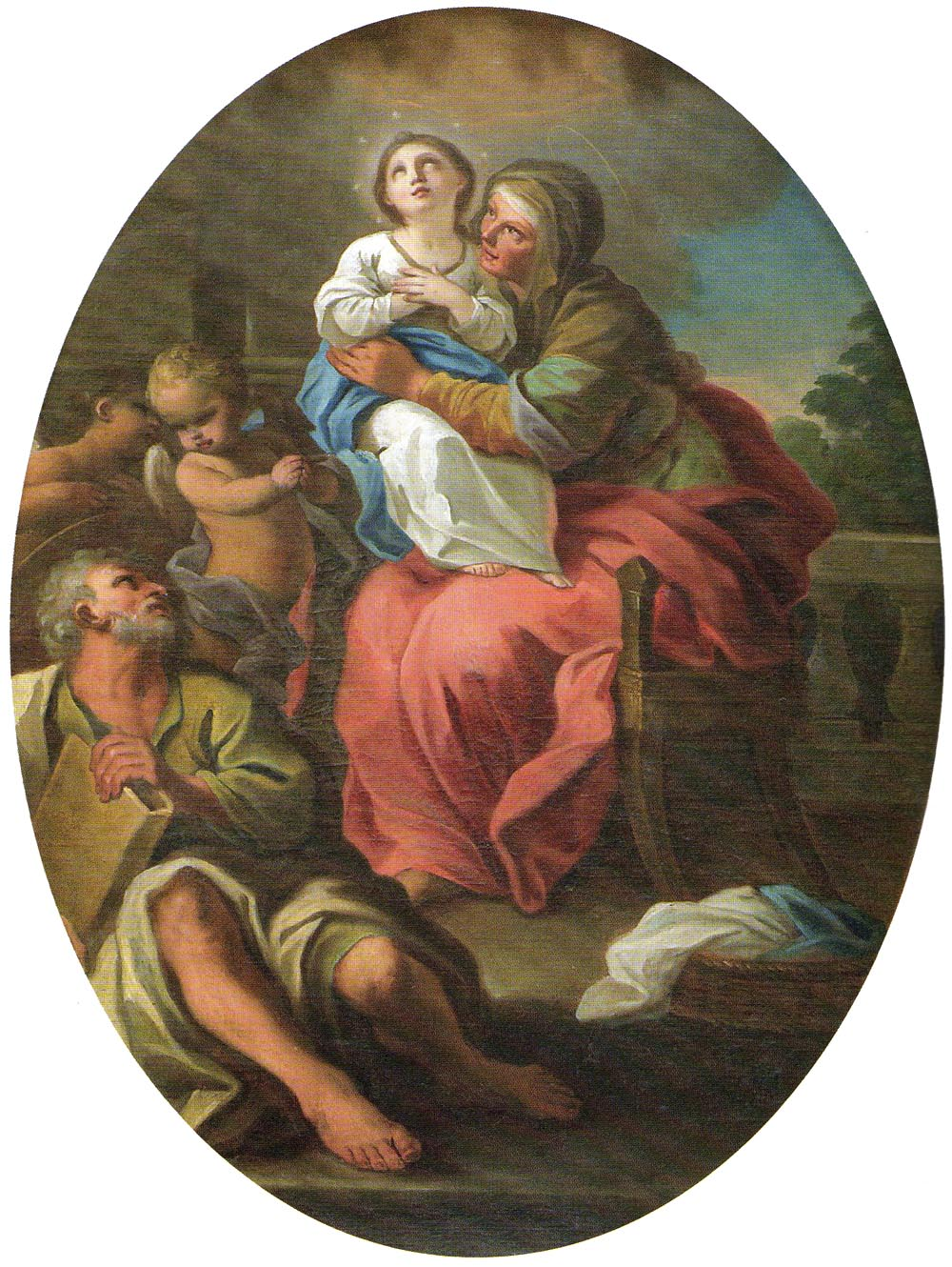 St. Anne with Mary and Joachim