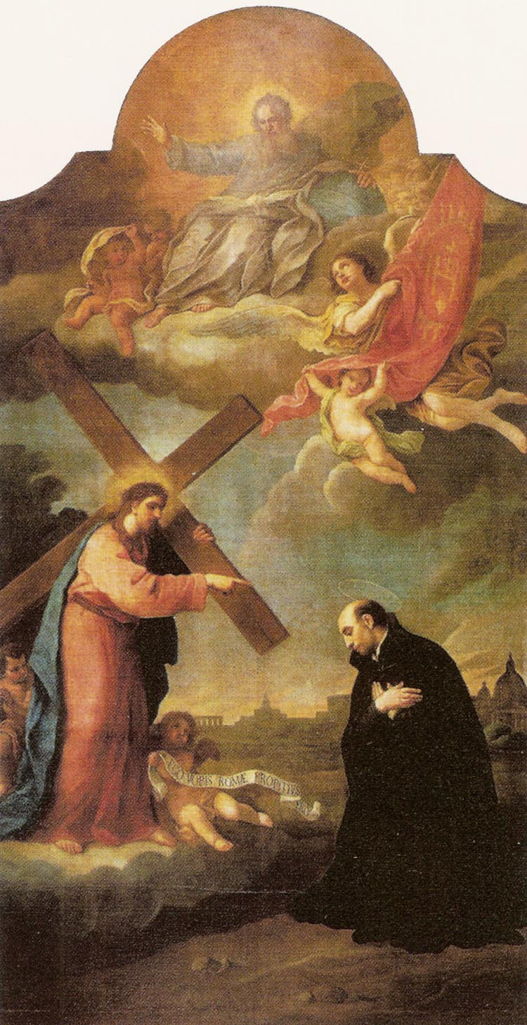 Christ Carrying the Cross Appearing to St Ignatius of Loyola