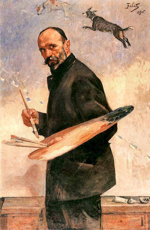 Self-Portrait with a Palette