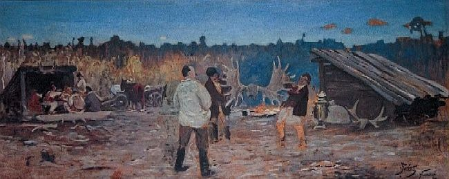 After the Hunt in Nieswieze