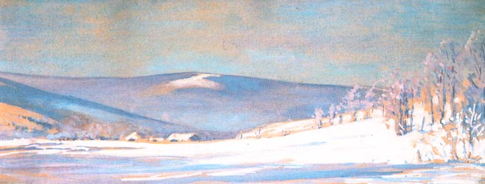 Winter Landscape of Bystra