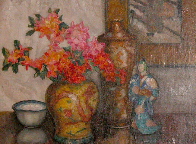 Still Life with a Chinese Figurine