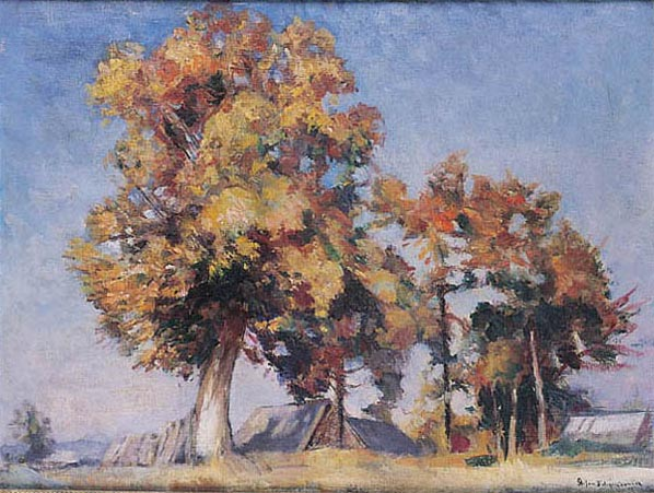 Lime-Trees in Autumn