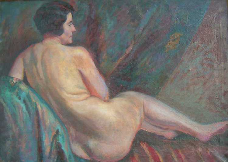 Nude - the Artist's Wife