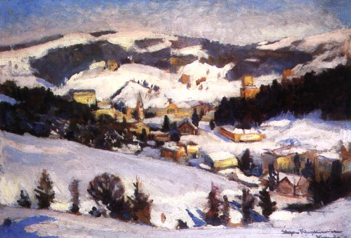 Krynica in Winter
