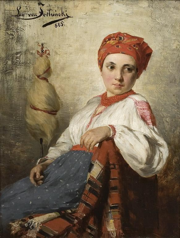 Portrait of a Farmer Girl
