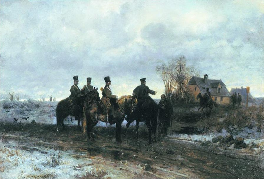 Polish Patrol in 1830