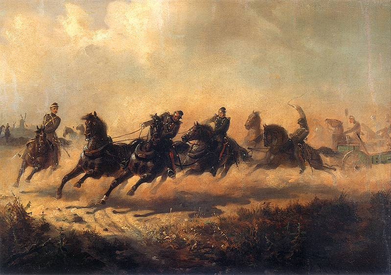 Charge of Russian Horse Artillery