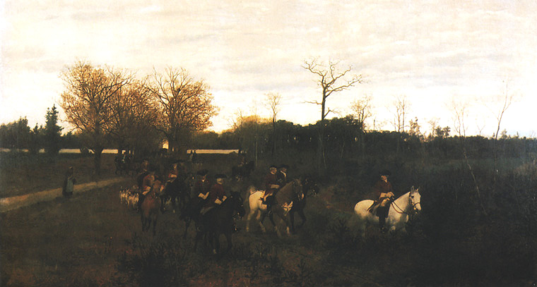 Departure for the Hunt I