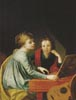 Portrait of the Misses Pechwell at the Clavichord