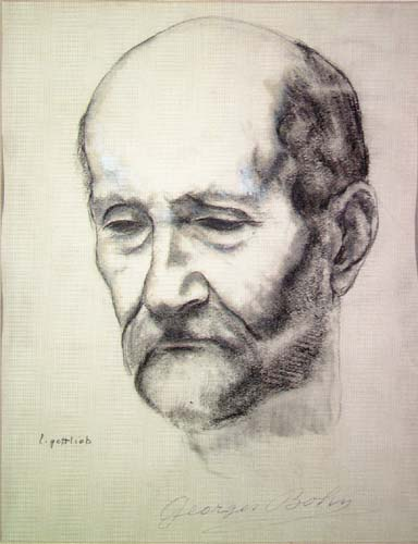 Portrait of Georges Bohn