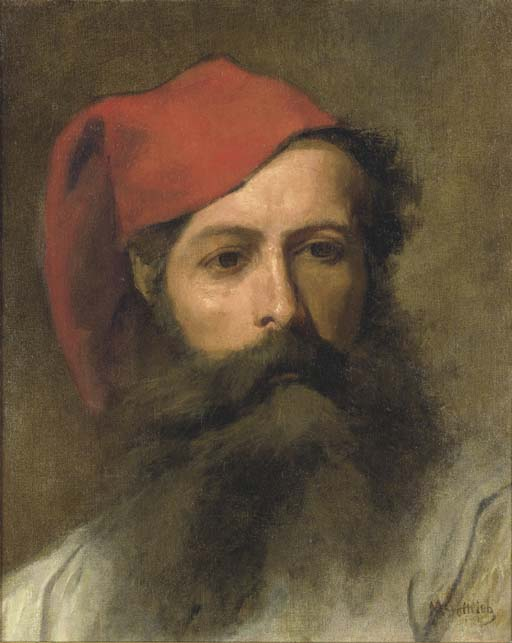 Portrait of a Man with a Turkish Hat