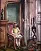 Small Girl in an Armchair